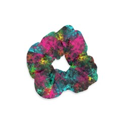 Squiggly Abstract B Velvet Scrunchie