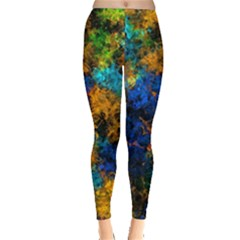 Squiggly Abstract C Leggings