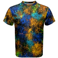 Squiggly Abstract C Men s Cotton Tee