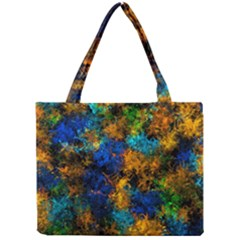 Squiggly Abstract C Mini Tote Bag