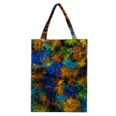 Squiggly Abstract C Classic Tote Bag