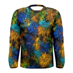 Squiggly Abstract C Men s Long Sleeve Tee