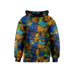 Squiggly Abstract C Kids  Pullover Hoodie