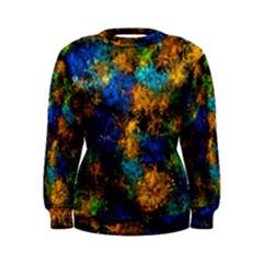 Squiggly Abstract C Women s Sweatshirt