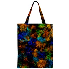 Squiggly Abstract C Zipper Classic Tote Bag