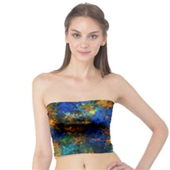 Squiggly Abstract C Tube Top