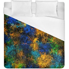Squiggly Abstract C Duvet Cover (king Size)