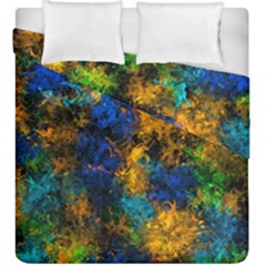 Squiggly Abstract C Duvet Cover Double Side (king Size)