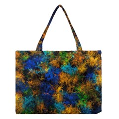 Squiggly Abstract C Medium Tote Bag