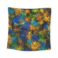 Squiggly Abstract C Square Tapestry (small)