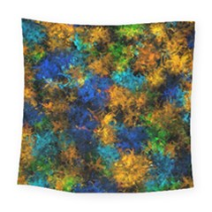 Squiggly Abstract C Square Tapestry (large)