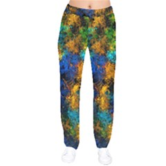 Squiggly Abstract C Drawstring Pants