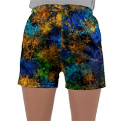 Squiggly Abstract C Sleepwear Shorts