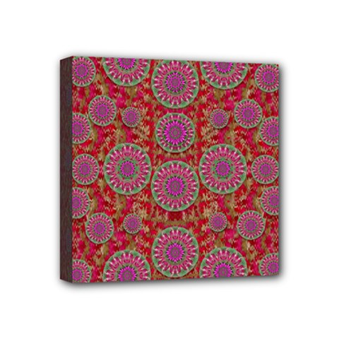 Hearts Can Also Be Flowers Such As Bleeding Hearts Pop Art Mini Canvas 4  X 4