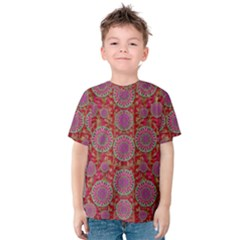 Hearts Can Also Be Flowers Such As Bleeding Hearts Pop Art Kids  Cotton Tee