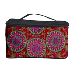 Hearts Can Also Be Flowers Such As Bleeding Hearts Pop Art Cosmetic Storage Case