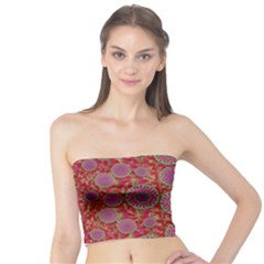 Hearts Can Also Be Flowers Such As Bleeding Hearts Pop Art Tube Top
