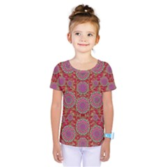 Hearts Can Also Be Flowers Such As Bleeding Hearts Pop Art Kids  One Piece Tee