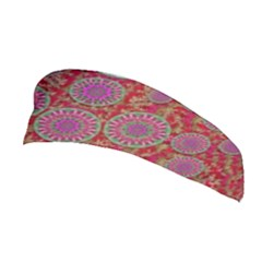 Hearts Can Also Be Flowers Such As Bleeding Hearts Pop Art Stretchable Headband
