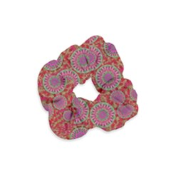Hearts Can Also Be Flowers Such As Bleeding Hearts Pop Art Velvet Scrunchie
