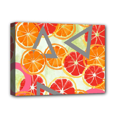 Citrus Play Deluxe Canvas 16  X 12