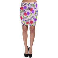 Floral Paradise Bodycon Skirt