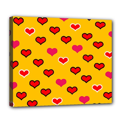 Lemony Love Deluxe Canvas 24  X 20  (stretched)