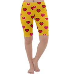 Lemony Love Cropped Leggings