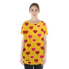 Lemony Love Skirt Hem Sports Top