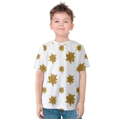 Graphic Nature Motif Pattern Kids  Cotton Tee