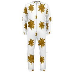 Graphic Nature Motif Pattern Onepiece Jumpsuit (men)
