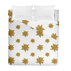 Graphic Nature Motif Pattern Duvet Cover Double Side (full/ Double Size)