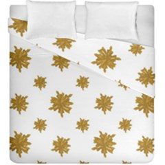 Graphic Nature Motif Pattern Duvet Cover Double Side (king Size)