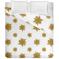 Graphic Nature Motif Pattern Duvet Cover Double Side (california King Size)