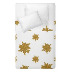 Graphic Nature Motif Pattern Duvet Cover Double Side (single Size)