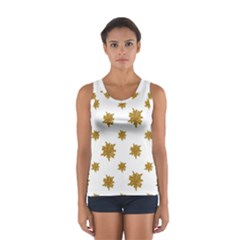 Graphic Nature Motif Pattern Sport Tank Top
