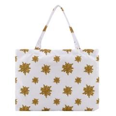 Graphic Nature Motif Pattern Medium Tote Bag