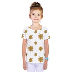 Graphic Nature Motif Pattern Kids  One Piece Tee