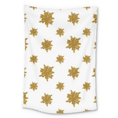Graphic Nature Motif Pattern Large Tapestry