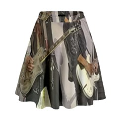 Johnny Depp Hollywood Vampires High Waist Skirt