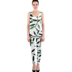 Botanical Leaves Onepiece Catsuit