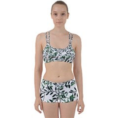 Botanical Leaves Women s Sports Set