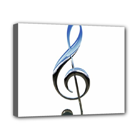 Musical Note  Canvas 10  X 8