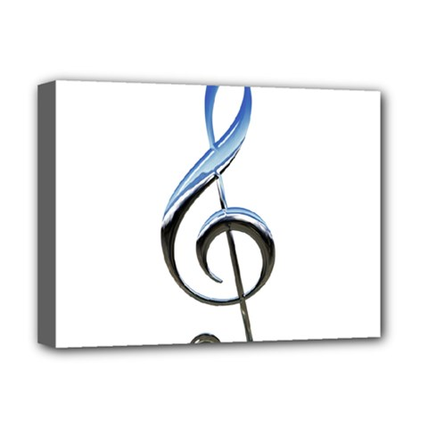 Musical Note  Deluxe Canvas 16  X 12
