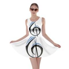 Musical Note  Skater Dress