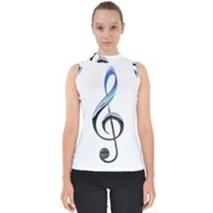 Musical Note  Shell Top