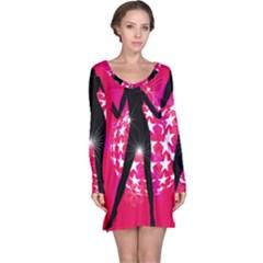 Sexy Lady Long Sleeve Nightdress