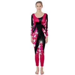 Sexy Lady Long Sleeve Catsuit