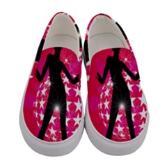 Sexy Lady Women s Canvas Slip Ons