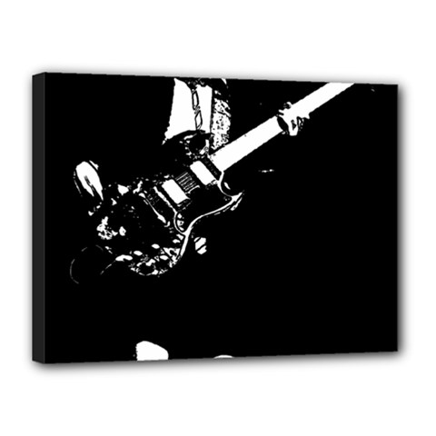 Angus Young  Canvas 16  X 12